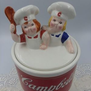 Campbell Soup Cookie Jar 1998